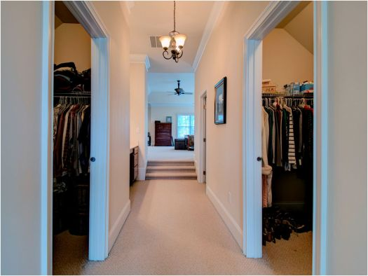 Master Bdrm Walk In Closets